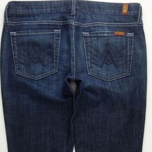 7 For All Mankind A Pocket Boot Cut Jeans 29 A249J